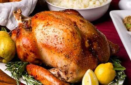 عکس های تزیین مرغ شکم پر 7 عکس های تزیین مرغ شکم پر