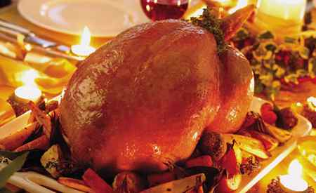 عکس های تزیین مرغ شکم پر 9 عکس های تزیین مرغ شکم پر