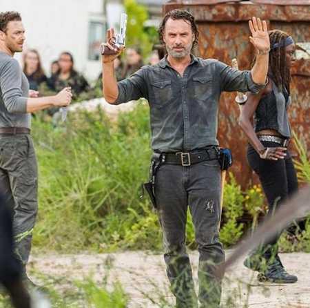 عکس های ریک گرایمز در سریال مردگان متحرک ( The walking dead ) (12)