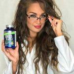 عکس های طلا گلزار در تبلیغات قرص ویتامین