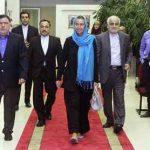 عکس های فدریکا موگرینی در تهران