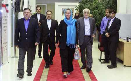 عکس های فدریکا موگرینی در تهران (1)