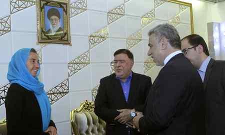 عکس های فدریکا موگرینی در تهران 2 عکس های فدریکا موگرینی در تهران