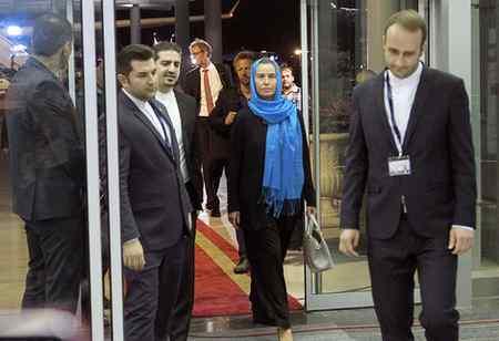 عکس های فدریکا موگرینی در تهران 5 عکس های فدریکا موگرینی در تهران