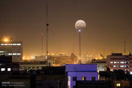 عکس های ماه گرفتگی در ایران مرداد 96 (3)