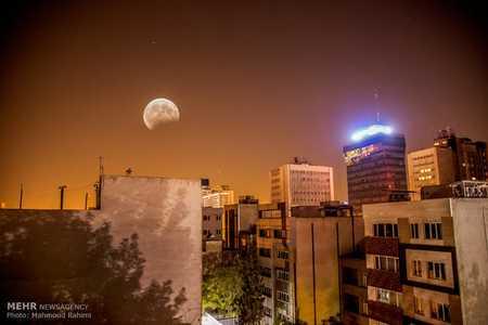 عکس های ماه گرفتگی در ایران مرداد 96 7 عکس های ماه گرفتگی در ایران مرداد 96