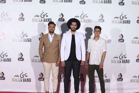 عکس های مراسم جشن امضای آلبوم ماکان باند 7 عکس های مراسم جشن امضای آلبوم ماکان باند