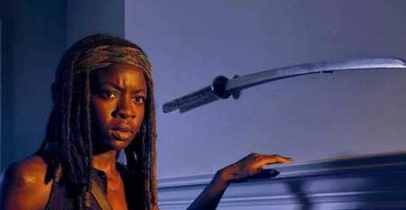 عکس های میشون در سریال مردگان متحرک ( The walking dead ) (6)
