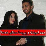 ماجرای دستگیری مملی لمینت و پریسا