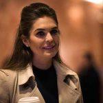ماجرای هوپ هیکس مدل 28 ساله به عنوان مشاور ترامپ