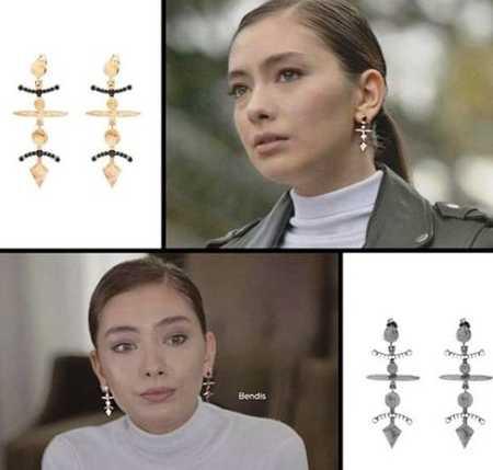 مدل های گوشواره و گردنبند سریال اکیا 10 مدل های گوشواره و گردنبند سریال اکیا