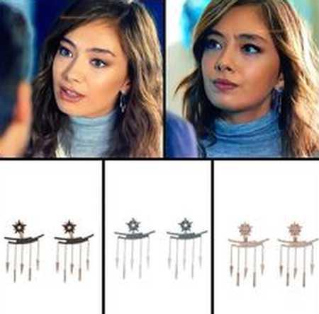 مدل های گوشواره و گردنبند سریال اکیا 22 مدل های گوشواره و گردنبند سریال اکیا