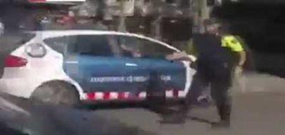 کلیپ حادثه تروریستی بارسلون اسپانیا