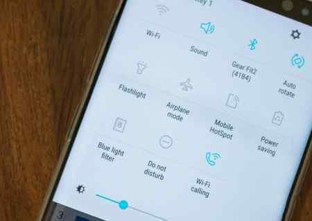 آموزش غیر فعال کردن نور آبی از صفحه نمایش گوشی های سامسونگ (3)