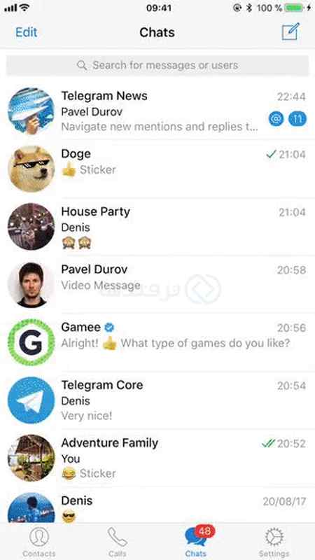 آموزش پیدا کردن پیام های خود در گروه های تلگرام (2)