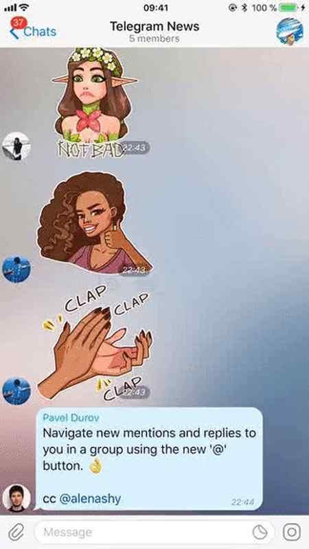آموزش پیدا کردن پیام های خود در گروه های تلگرام 5 آموزش پیدا کردن پیام های خود در گروه های تلگرام