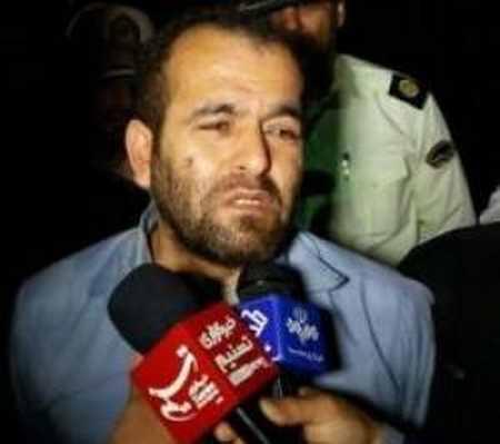 اعدام قاتل آتنا اصلانی در ملا عام (8)