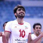 بیوگرافی امیر غفور والیبالیست ایران و همسرش