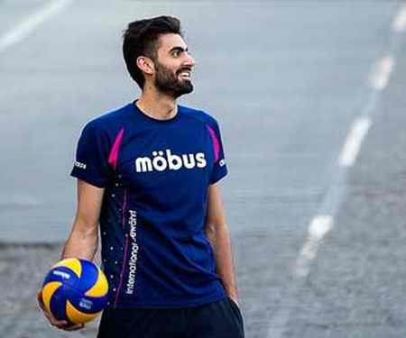 بیوگرافی امیر غفور والیبالیست ایران و همسرش (10)