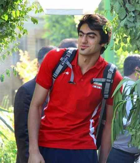 بیوگرافی امیر غفور والیبالیست ایران و همسرش (3)