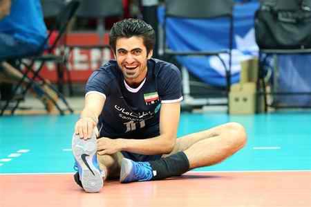بیوگرافی امیر غفور والیبالیست ایران و همسرش (6)
