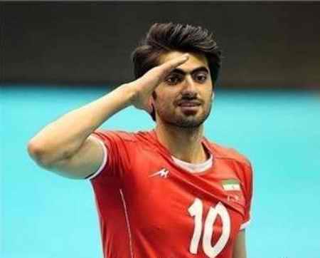 بیوگرافی امیر غفور والیبالیست ایران و همسرش (8)