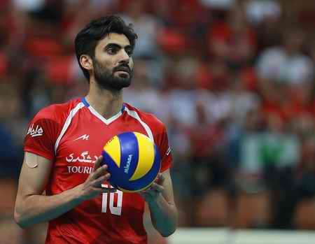 بیوگرافی امیر غفور والیبالیست ایران و همسرش (9)