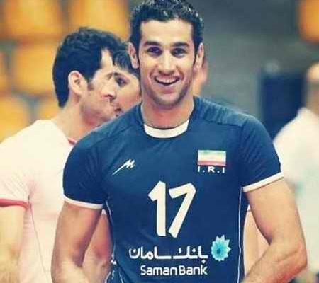 بیوگرافی رضا قرا والیبالیست ایران و همسرش (1)