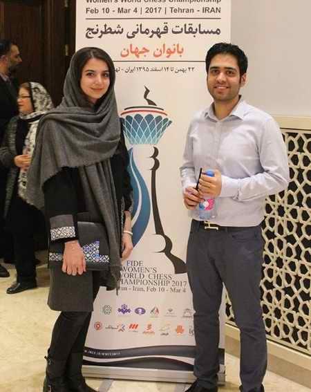 بیوگرافی سارا خادم الشریعه استاد شطرنج و همسرش 1 بیوگرافی سارا خادم الشریعه استاد شطرنج و همسرش