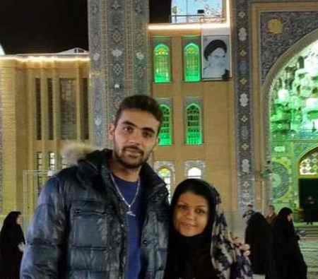 بیوگرافی سامان فائزی والیبالیست و همسرش 2 بیوگرافی سامان فائزی والیبالیست و همسرش