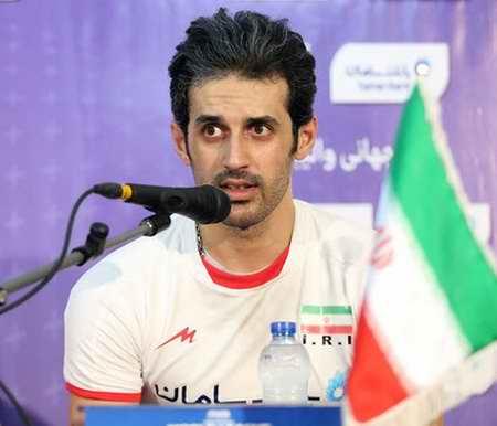 بیوگرافی سعید معروف والیبالیست ایران و همسرش (2)