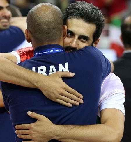بیوگرافی سعید معروف والیبالیست ایران و همسرش (3)