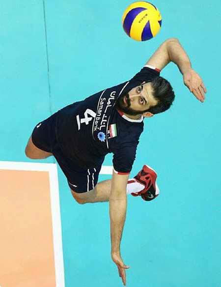 بیوگرافی سعید معروف والیبالیست ایران و همسرش (6)