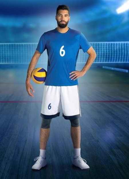 بیوگرافی سید محمد موسوی والیبالیست ایران و همسرش (2)