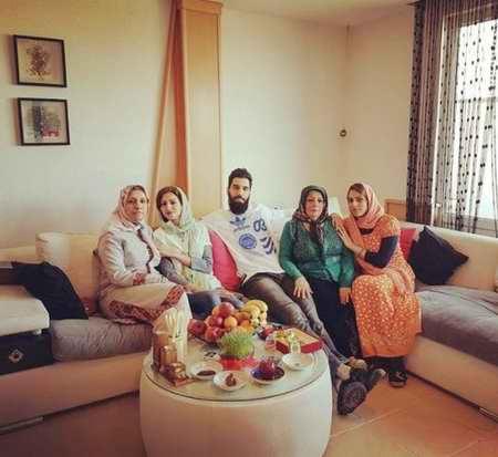 بیوگرافی سید محمد موسوی والیبالیست ایران و همسرش (7)