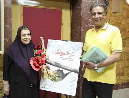 بیوگرافی عبدالرضا اکبری بازیگر و همسرش (1)