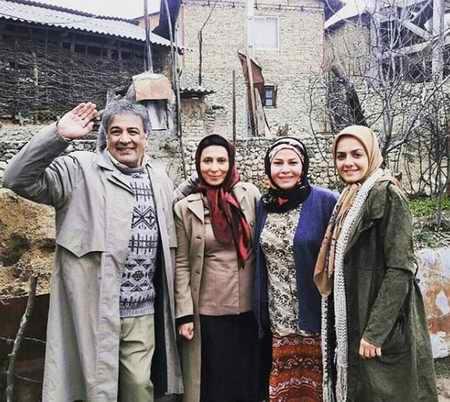 بیوگرافی عبدالرضا اکبری بازیگر و همسرش (9)