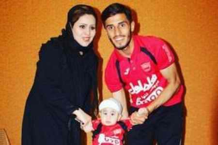 بیوگرافی علی علیپور فوتبالیست و همسرش (6)