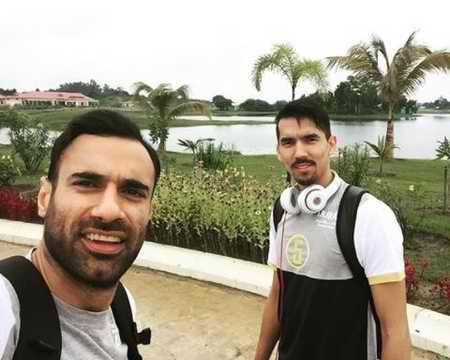 بیوگرافی فرهاد قائمی والیبالیست ایران و همسرش (6)