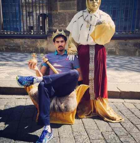 بیوگرافی فرهاد قائمی والیبالیست ایران و همسرش (8)