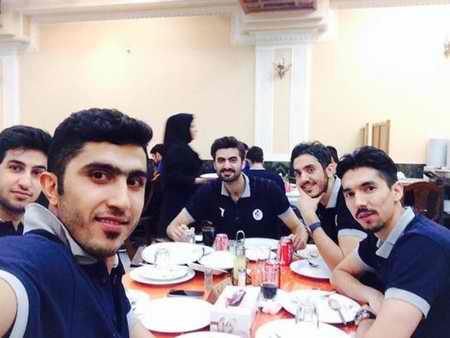 بیوگرافی مجتبی میرزاجانپور والیبالیست ایران و همسرش 4 بیوگرافی مجتبی میرزاجانپور والیبالیست ایران و همسرش