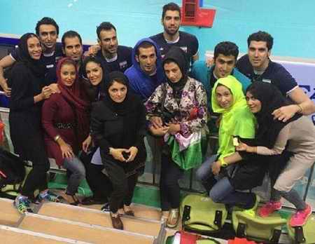 بیوگرافی مجتبی میرزاجانپور والیبالیست ایران و همسرش 7 بیوگرافی مجتبی میرزاجانپور والیبالیست ایران و همسرش