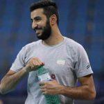 بیوگرافی مسعود غلامی والیبالیست ایران و همسرش