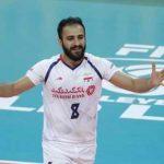 بیوگرافی مصطفی حیدری والیبالیست ایران و همسرش