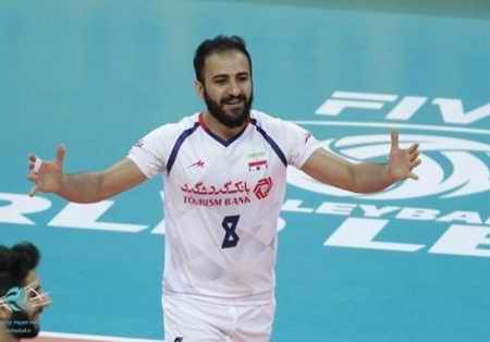 بیوگرافی مصطفی حیدری والیبالیست ایران و همسرش (1)