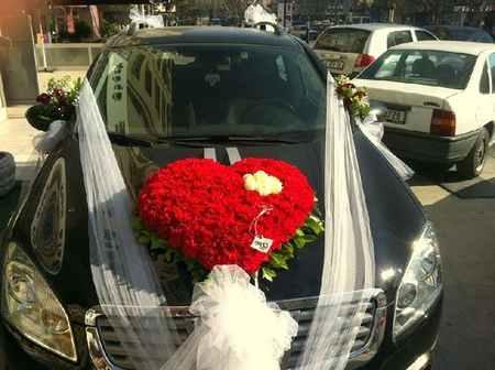 تزیین ماشین عروس ایرانی (12)
