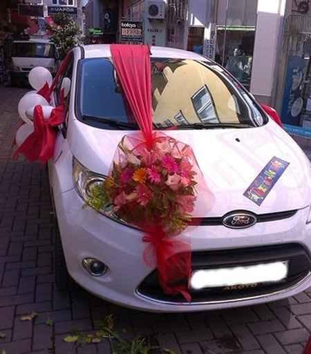 تزیین ماشین عروس ایرانی (13)