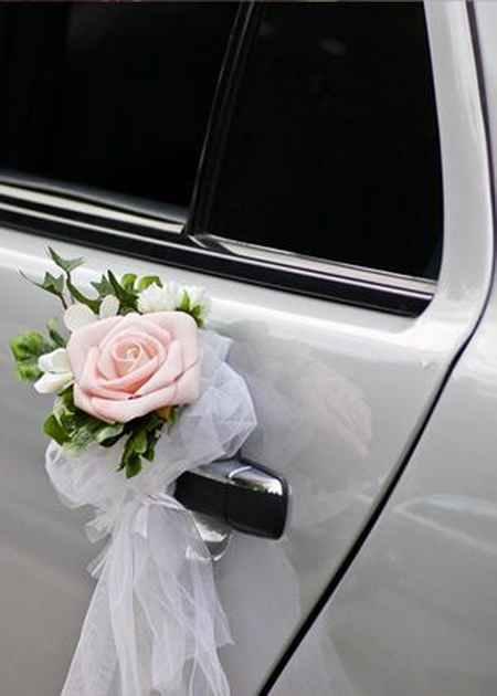 تزیین ماشین عروس ایرانی (2)