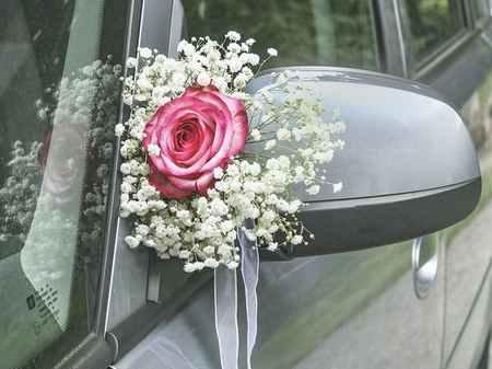 تزیین ماشین عروس ایرانی (3)