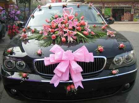 تزیین ماشین عروس ایرانی (9)